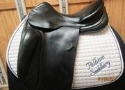 Spirig Custom Used Dressage Saddle 17.5