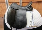 Custom Used Dressage Saddle 17.5