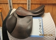 Stubben Portos Elite 32 CM Used Close Contact Saddle 17.5