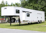 2021 STW Enclosed Cargo Trailer w/ 20' Garage and Living Quarters