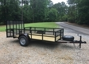 Deluxe 6ft X 12ft Utility Trailer, 24