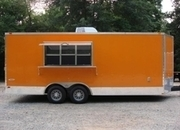 Awesome 8.5ft X 20ft Concession Trailer w/4 Sinks, A/C, Finished Inside! Special Order!