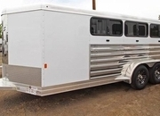 2022 Exiss Exhibitor Low Pro 716W Livestock Trailer W/ AC ON ORDER