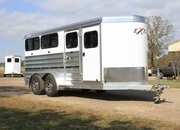 2022 Exiss Trailers 615W Mini Combo Livestock Trailer ON ORDER