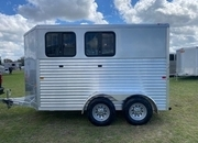 2022 Frontier Colt 2H Stock Combo Horse Trailer ON ORDER