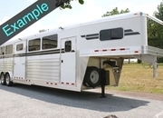 New 4-Star 5 Horse Deluxe w/ 4'ft Dressing Room