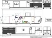 2022 Lakota LE81415SR 14' Livestock 15' Living Quarters Trailer