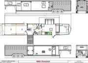 2022 SMC SLE8614SSRT 16' Livestock, 14' Living Quarters Trailer w/ Midtack Bunk Beds