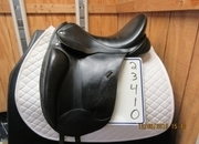 Custom Saddlery Versailles Mono Used Dressage Saddle 17.5