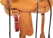 Circle Y Oakdale Ranch Saddle (15.5