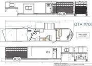 2022 Lakota LE81415SRB 14' Livestock 15' Living Quarters Trailer