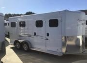 2020 Trails West CLASSIC II  2 Horse Trailer