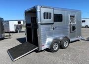 2022 Cimarron XL Stalls Straight Load BP Horse Trailer