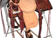 Reinsman Marlene McRae Special EFFX Barrel Saddle (15