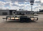 2021 Longhorn 77x16 Utility Bumper Pull Trailer