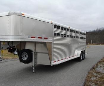 2019 Adam JGA-247 Livestock Trailer