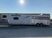 2022 Lakota 16' Livestock 11' Living Quarters Trailer