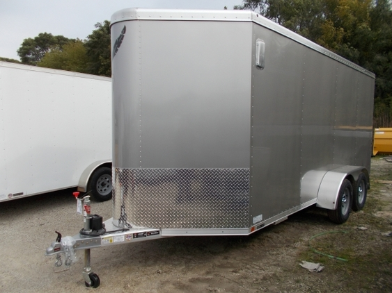 Used Featherlite Cargo Utility Cargo Trailers For Sale Trailersmarket Com