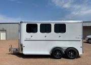 2022 Sundowner 3 Horse Super Sport Bumper Pull Trailer