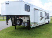"2021 Shadow PRO Series 4 Horse Trailer Slant Load Gooseneck w/ 16'6""Living Quarters"