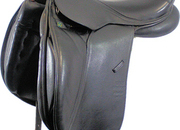 REDUCED Stübben Aramis N.T. Dressage Saddle (with Biomex Seat) 17ins / Wide - 4623-1