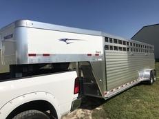 24ft Aluminum Stock Trailer Horse Trailer