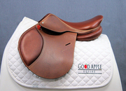 NEW! Jump-in Close Contact Saddle, 17ins Seat, Medium Width Fitting; Ref: 4412-25