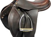 Bruno Delgrange Pierre Jolicoeur Collection Youth Close Contact Saddle, 15.5ins / Medium - 5184-1