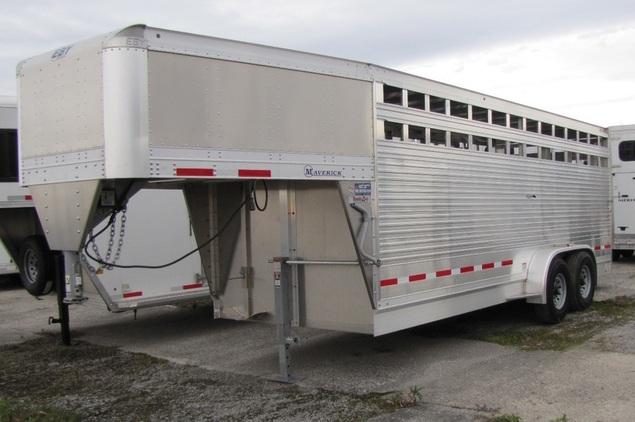 Trailers Plus Peterborough >> Eby 7 X20 Maverick All Aluminum Stock Trailer Horseclicks