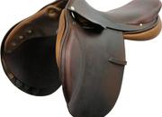 Hermès Hunter/Jumper Close Contact Saddle, 17ins / Wide; 4520-33