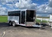 2022 Cimarron 3 Horse Bumper Pull
