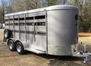 Bee 6ft X 16ft Deluxe Livestock Trailer, Haul Goats, Pigs, Calves, Cows, Ponies!