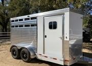 2 Horse Trailer Stock Trailer  ** REDUCED**
