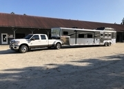 2019 Bison 8317 loaded with ALL options, with 7 year warranty.  Hay rack, generator, ramp, fireplace & more !