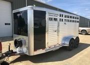 New 2021 Stock Trailer Horse Trailer