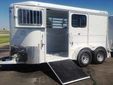 Tall & Wide Horse Trailer with Ramps