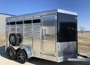 Horse Trailer 7ft Tall * Combo Stock