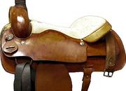 Buffalo 1951 Roping Saddle, 19ins / Semi QH Bars - 5314-1
