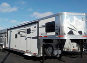 2019 Lakota Charger 14' Livestock with 15' Living Quarters and Mid tack! RVH 1272