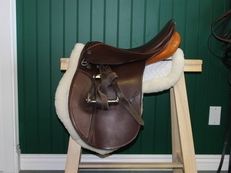 SOLD Stubben Siegfried VSD Dressage Saddle 18