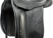 County Perfection Dressage Saddle, 17ins / Wide - 5167-3