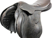 County Saddlery Conquest Close Contact Saddle, 17.5ins / Wide - 5333-2