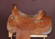 SOLD! Broken Horn Western Show Saddle Package 16