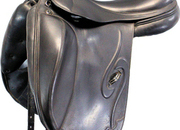 Prestige Venus K Monoflap Dressage Saddle, 17ins / Wide - 4955-1
