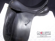 JRD Saddlery Accord Dressage Saddle, 17. 5ins MW Fitting: Ref: 2496-3