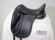 Mac Rider Challenge Dressage Saddle, 17.5ins Seat, Medium to M/W Width Fitting (5ins) Ref: 2527-49