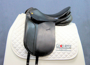 Niedersuss Olympik Dressage Saddle, 17.5ins Seat, Medium Wide Width Fitting; Ref: 4332-28